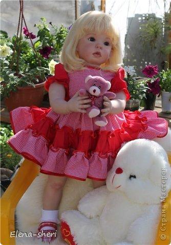 Кукла-реборн Лиза  фото 3
