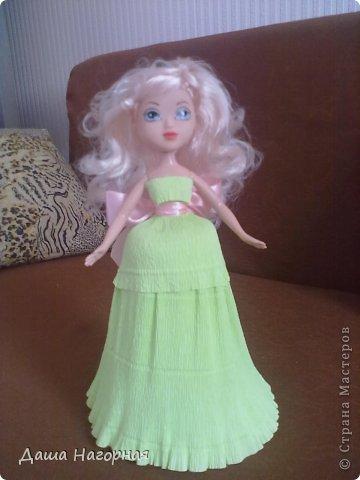 """Ну вот и """"родилась"""" моя первая свит-кукла) Заказчица очень просила фею ... пришлось своять ей капроновые крылышки (они съемные) фото 9"""