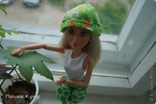 Добрый день, СМ! Хочу показать Софи перед прогулкой) (панамка ручная) фото 1
