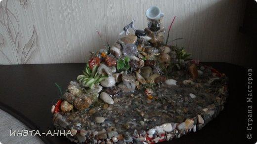 Каскад-водопад в миниатюре  фото 5
