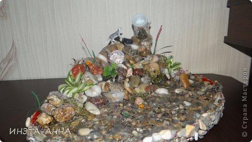 Каскад-водопад в миниатюре  фото 1