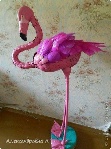 Поделка изделие Моделирование такое пурпурно-розовое чудо Бутылки пластиковые фото 1