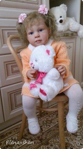 кукла-реборн Луиза  фото 9