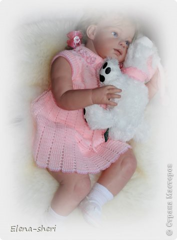 кукла-реборн Луиза  фото 7