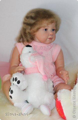 кукла-реборн Луиза  фото 4