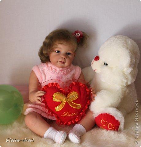 кукла-реборн Луиза  фото 8