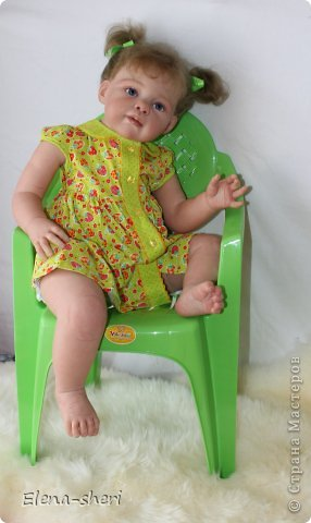 кукла-реборн Луиза  фото 3
