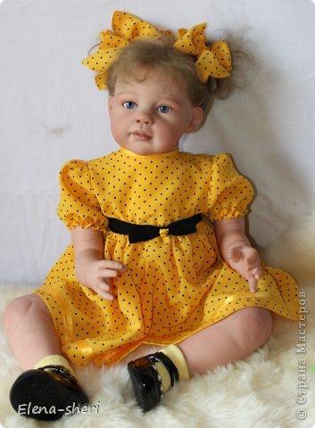 кукла-реборн Луиза  фото 2