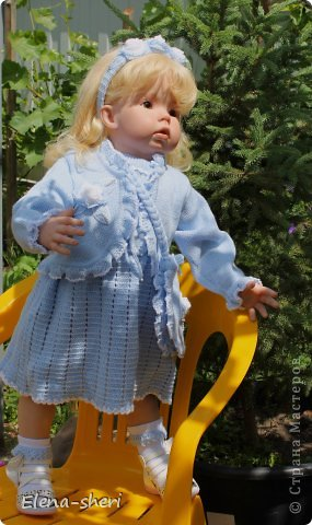 Кукла-реборн Лиза  фото 7