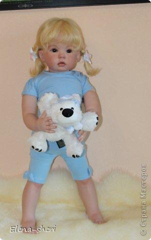 Кукла-реборн Лиза  фото 8