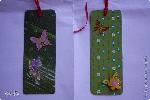 Летние закладки для книг фото 4