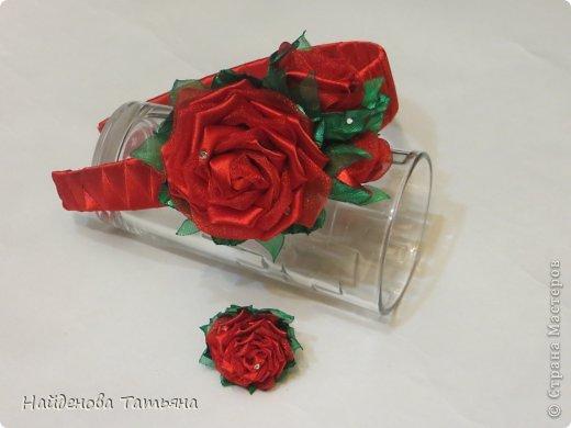 Комплект- колье , браслет , повязка для греческой прчески , серьги и колечко фото 11