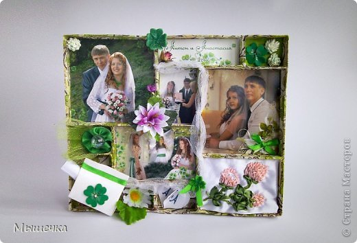 """Ну вот! Наконец-то добрались мои руки выложить фото-репортаж с моей Клеверной свадьбы. Давно я хотела это сделать, но вот как-то так.... В общем """"Я ВЫШЛА ЗАМУЖ!"""" Предупреждаю сразу очень много фотографий.  С моим будущим мужем мы жили некоторое время до свадьбы вместе. И когда решился вопрос со свадьбой, мы подумали и решили что не будем обрамлять кошельки родителей и будем гулять за собственные деньги. А у меня студентки на дневном и любимого-заочника денег много не появится - решили экономить и делать все своими руками.   фото 49"""