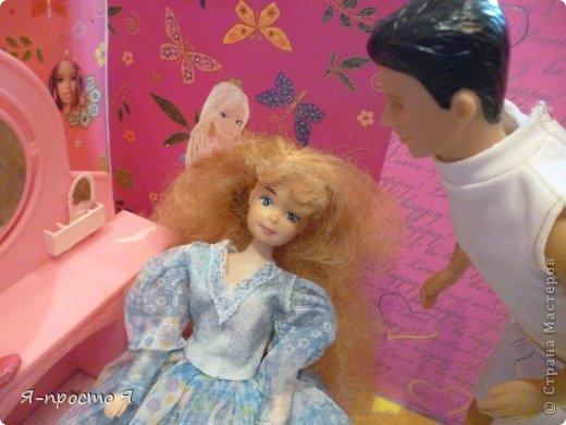 Итак начнём... Было у меня 2 куклы близняшки - Наташа и Ира. Вот таких ↓.  фото 6