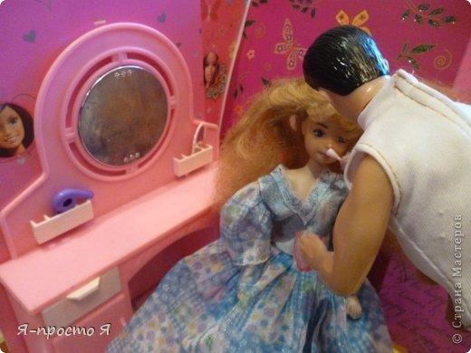 Итак начнём... Было у меня 2 куклы близняшки - Наташа и Ира. Вот таких ↓.  фото 7