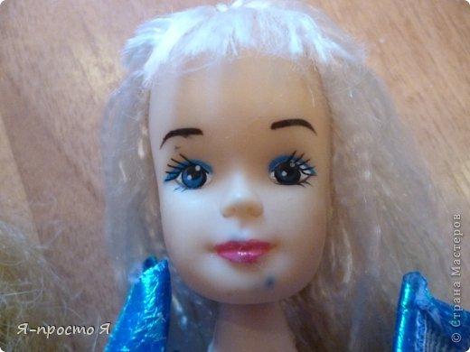 Итак начнём... Было у меня 2 куклы близняшки - Наташа и Ира. Вот таких ↓.  фото 15