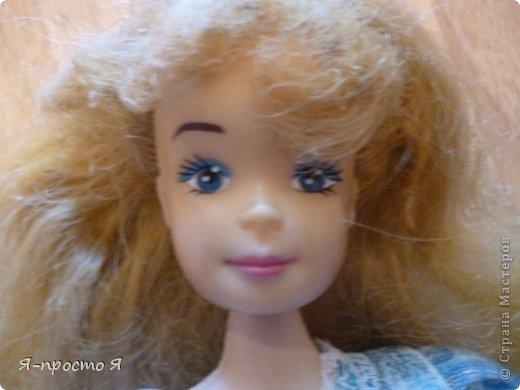 Итак начнём... Было у меня 2 куклы близняшки - Наташа и Ира. Вот таких ↓.  фото 14