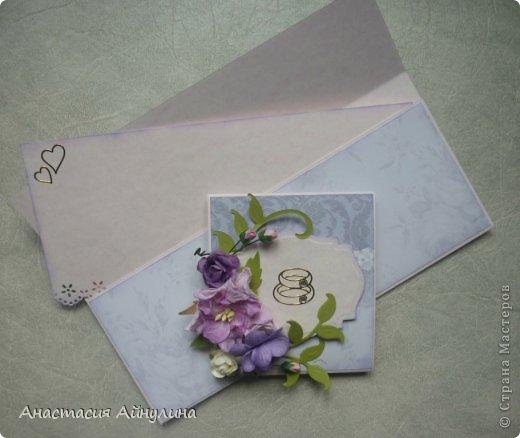 Похожий конвертик уже делала, только без цветочков. фото 3