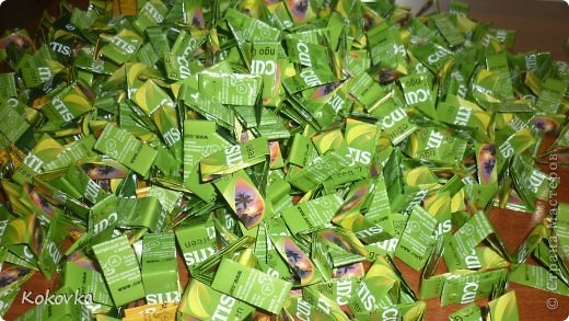 Мастер-класс Моделирование конструирование Шитьё Сумочки из фантиков Бумага журнальная Материал бросовый Фантики фото 13