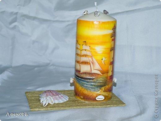 Девочки, здравствуйте. Хочу показать Вам некоторые свои работы по декорированию свечей. К сожалению нет общей фотографии, поэтому загрузила много. Наборчики свечей. Украшены ароматным саше. фото 6
