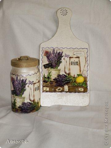 Вот такие наборчики для кухни. Доски декоративные, а банки для сыпучих продуктов можно использовать. фото 2