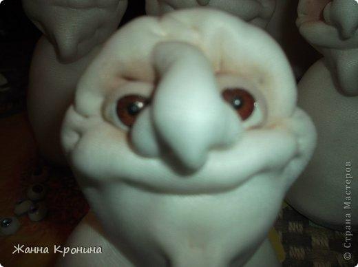 Куклы Мастер-класс Оберег Шитьё МК по созданию Ёжки Капрон Клей фото 32