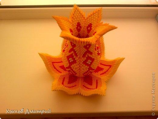 Модульное оригами схемы ваза мастер класс - Zerli.ru