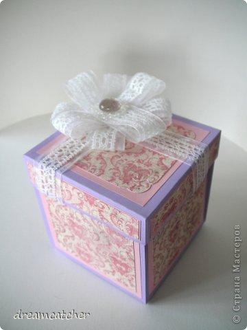Добрый день! В этот раз мне выпал случай смастерит чудесный magix box в честь свадьбы знакомых по этому решила поделится своими успехами!   в процессе фото 4