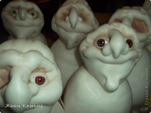 Куклы Мастер-класс Оберег Шитьё МК по созданию Ёжки Капрон Клей фото 31