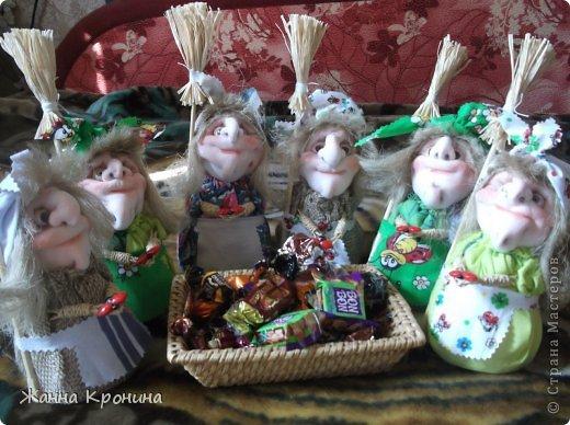 Куклы Мастер-класс Оберег Шитьё МК по созданию Ёжки Капрон Клей фото 38