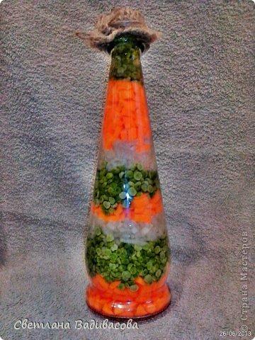 Сотворилась на кухню овощная бутылочка. фото 3