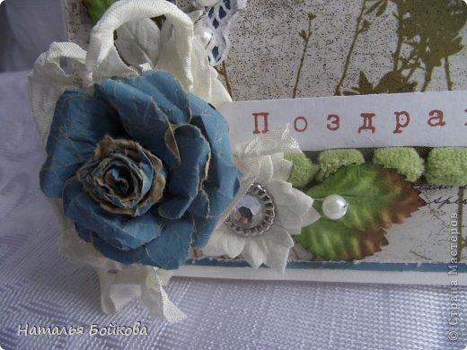 Мастер-класс Поделка изделие Скрапбукинг Ассамбляж Винтажная роза МК или мои эксперименты с бумагой Бумага фото 21