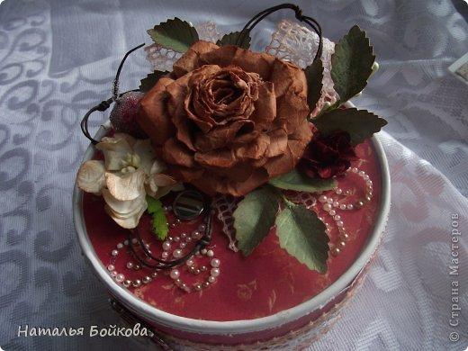 Мастер-класс Поделка изделие Скрапбукинг Ассамбляж Винтажная роза МК или мои эксперименты с бумагой Бумага фото 3