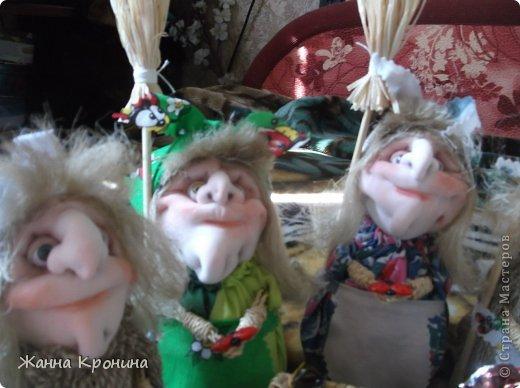 Куклы Мастер-класс Оберег Шитьё МК по созданию Ёжки Капрон Клей фото 3