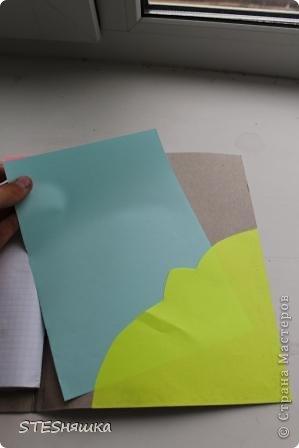 Всем привет. Решила я сделать подарок моей знакомой. Получился вот такой вот блокнотик. Основа листы из тетради. Обложка картон. Цветок офисная бумага. Надпись фломастерами. Картинка из интернета.  фото 8
