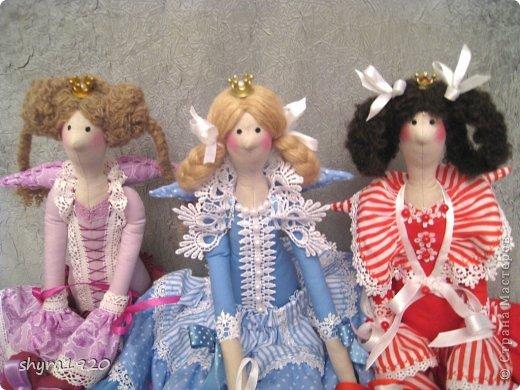 """Вот мои новые куколки из серии """"Царские дочки"""" фото 1"""