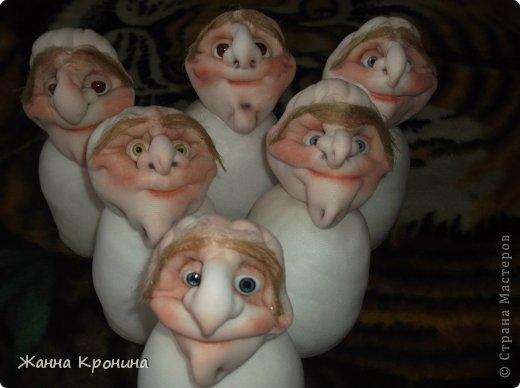 Куклы Мастер-класс Оберег Шитьё МК по созданию Ёжки Капрон Клей фото 33