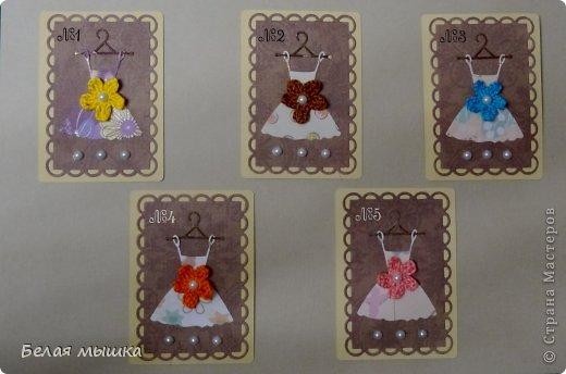 """Новая серия для обмена! Теплое лето навеяло тематику АТС """"Модные платья"""" для модниц с нежными летними вязаными цветочками, учитывая переменчивое настроение моды.  Приглашенные: An-2012, aleksandra_bonya 1- An-2012 2- галяка-маляка 3- aleksandra_bonya 4- Flowria 5- Fastiya  фото 1"""