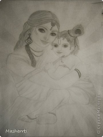 Мои зарисовки...наброски, карандаш фото 2