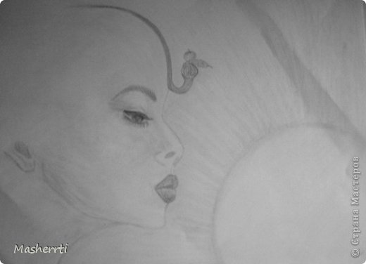 Мои зарисовки...наброски, карандаш фото 3