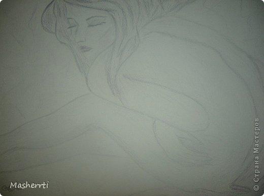 Мои зарисовки...наброски, карандаш фото 5