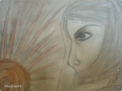 Мои зарисовки...сухая пастель фото 1
