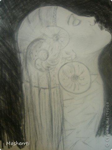 Мои зарисовки...уголь фото 2