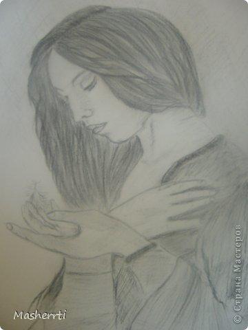 Мои зарисовки...уголь фото 1