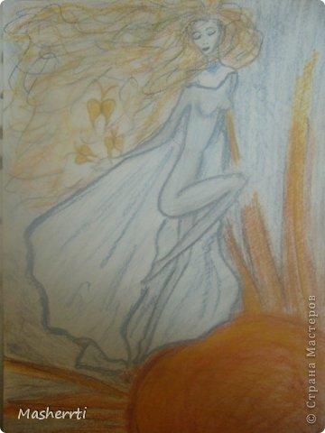 Мои зарисовки...сухая пастель фото 3