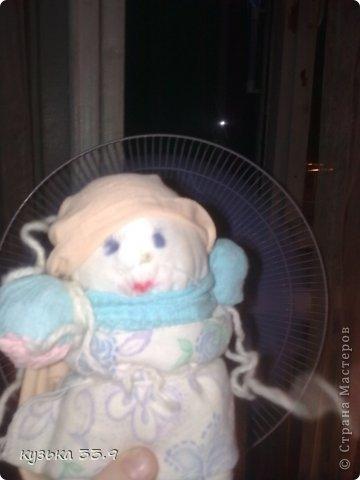 я сделала куклу из колготок.её зовут аля. фото 3