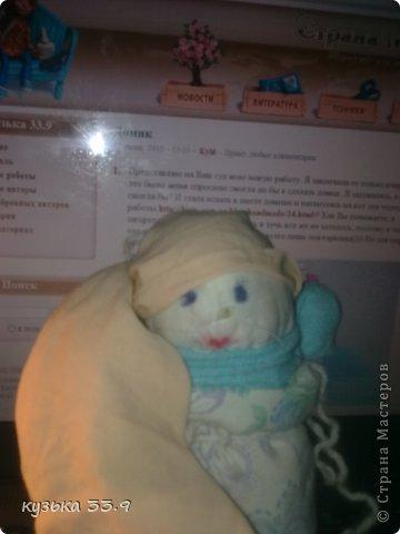 я сделала куклу из колготок.её зовут аля. фото 1