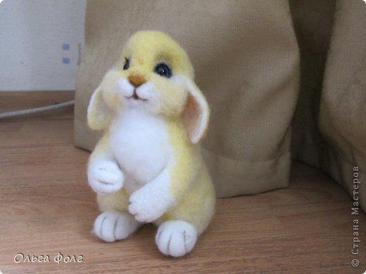 Урррра!  У  меня  теперь тоже  есть  желтенький  заяц! фото 4