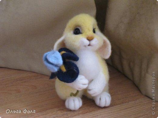 Урррра!  У  меня  теперь тоже  есть  желтенький  заяц! фото 3