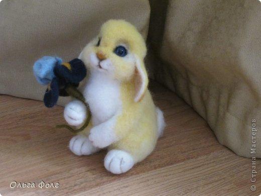 Урррра!  У  меня  теперь тоже  есть  желтенький  заяц! фото 1